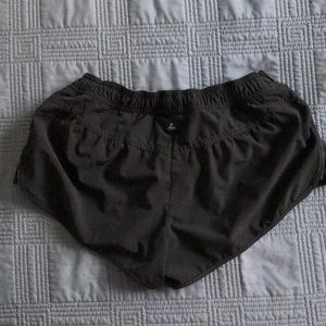 Black xs prana athletic shorts